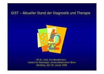 GIST – Aktueller Stand der Diagnostik und Therapie