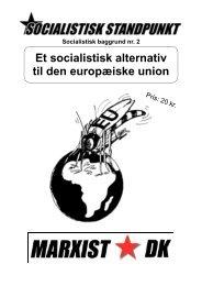 Et socialistisk alternativ til den europæiske union