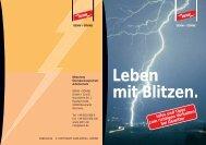 Leben mit Blitzen. - ELEKTRO - GOLL Gmbh