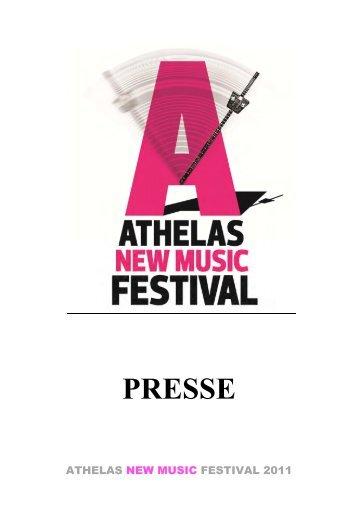 PRESSE - Klang Copenhagen Avantgarde Music Festival