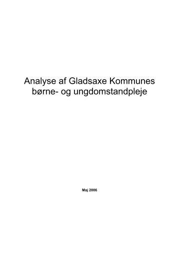 Analyse af Gladsaxe Kommunes børne- og ungdomstandpleje