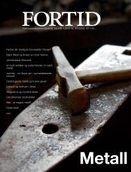 Historiestudentenes tidsskrift, UiO NR 1-2013 10. ÅRGANG ... - Fortid