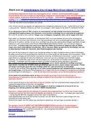 Svar på embedslægens brev dateret 17-10-2006 - Bowen-test ...