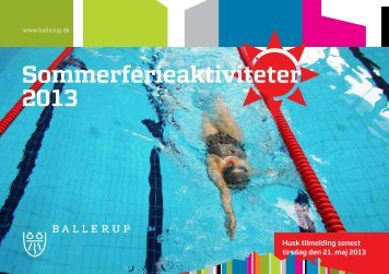 Sommerferieaktiviteter 2013.pdf - Ballerup Kommune