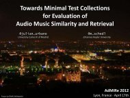 [Slides] Towards Minimal Test Collections for Evaluation of Audio ...