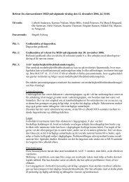 Referat fra ekstraordinært MED-udvalgsmøde tirsdag den 12 ...