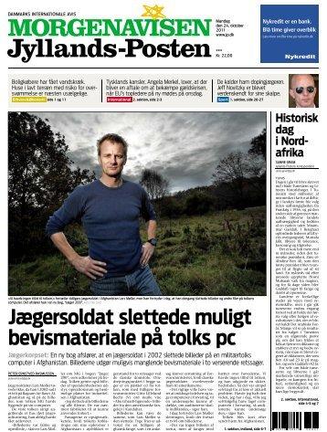 Jægersoldat slettede muligt bevismateriale på tolks pc - Jaeger200.dk