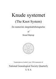 Knude systemet, DK - Knud Højrup, Astrup