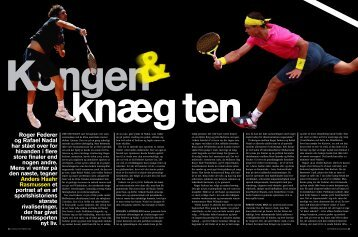 international tennis - Kreds 1