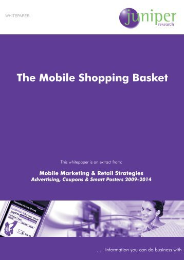 Mobile Retail Whitepaper - Juniper Research