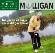 MOLLIGAN, december 2011 - Mollerup Golf Club