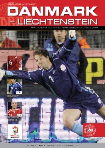 Danmark-Liechtenstein - DBU