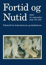 Nr. 3/2003 - Kulturstudier