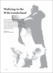 Waltzing in the wikiwonderland - Get a Free Blog