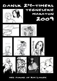 Dansk 24-timers tegneseriemaraton 2009 - Ondskabens Flydende ...