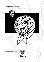 Distriktsturnering 2006 - Spejdernet