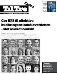 Til Tro 6 2012.pdf - Kristeligt Forbund for Studerende