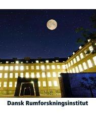 Dansk Rumforskningsinstitut - Jan Erik Rasmussen