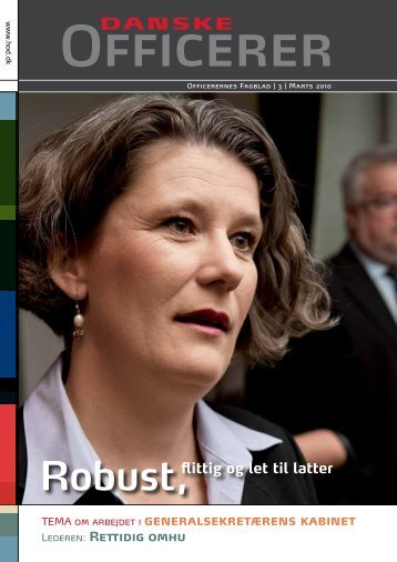 Robust, - Hovedorganisationen af Officerer i Danmark