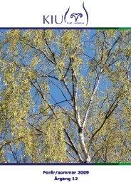Kiu-bladet forår 2009 til hjemmesiden - Kræftens Bekæmpelse