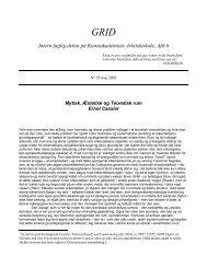 55. Mytisk, Æstetisk og Teoretisk rum - Kunstakademiets Arkitektskole