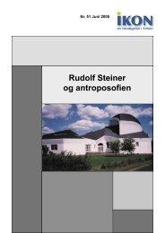 Rudolf Steiner og antroposofien - IKON - Danmark