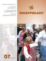 Download Skræppebladet september 2011 i pdf-format