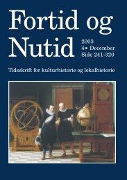 Fortid og Nutid - Kulturstudier