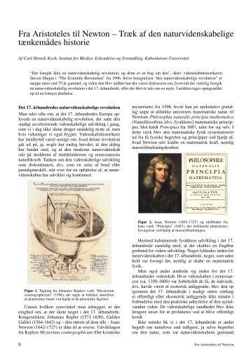 Fra Aristoteles til Newton – Træk af den naturvidenskabelige ... - Kvant
