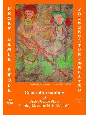 Generalforsamling - Broby Gamle Skole