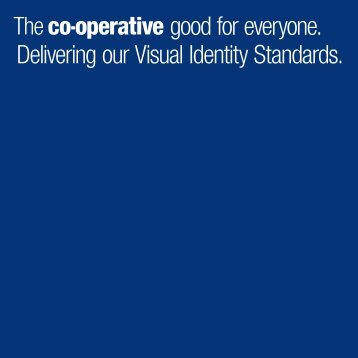 Visual Identity Standards PDF v.3 - The Co-operative