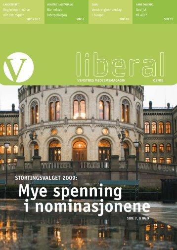 Nr. 8, 19. desember - Venstre