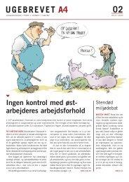 Per Michael Jespersen, redaktør, pjs@lo.dk - Ugebrevet A4