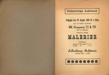 Fredagen den 27. August 1920 Kl. 1 Eftm.