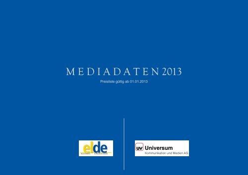 M E D I A D A T E N 2013 - Elde Online
