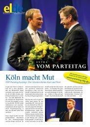 Köln macht Mut - Elde Online