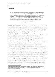 Læs rapporten - Jordemoderforeningen