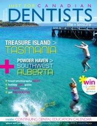 November December 2012 - Just For Canadian Dentists Magazine