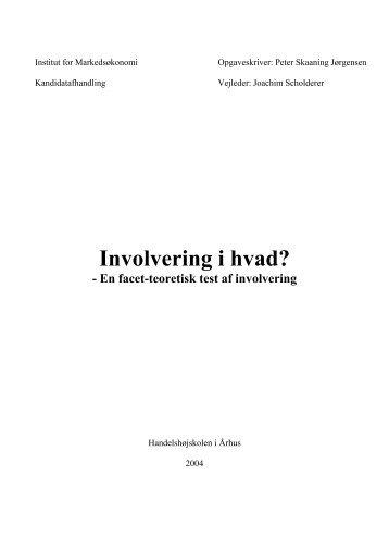 Involvering i hvad? - PURE
