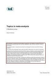 Full report - Transportøkonomisk institutt