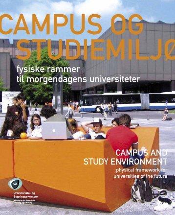 Campus og studiemiljø - Bygningsstyrelsen