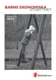 Årsrapport 2012:2 - Rädda Barnen
