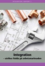 Integration (pdf) - Statistiska centralbyrån