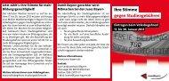 Ihre Stimme gegen Studiengebühren - Jusos Bayern