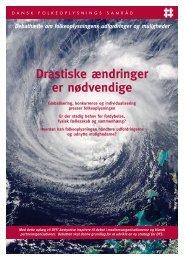 Drastiske ændringer er nødvendige - Dansk Folkeoplysnings Samråd