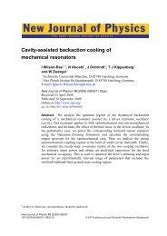New Journal of Physics 10, 095007 (2008) - K-LAB