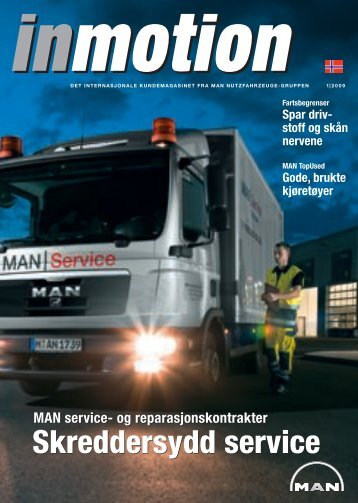 Skreddersydd service Skreddersydd service - MAN Truck & Bus Norge