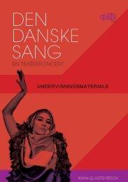 Den Danske Sang - QUASI teater
