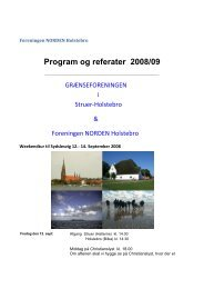 Program og referater 2008/09 - Foreningen Norden Holstebro