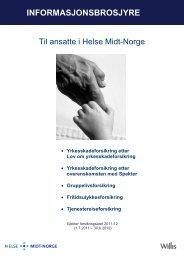 Gruppelivsforsikring - Helse Midt-Norge